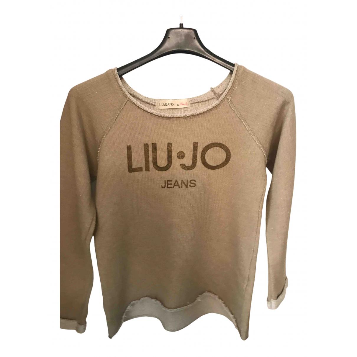 Liu.jo - Top   pour enfant en coton - dore