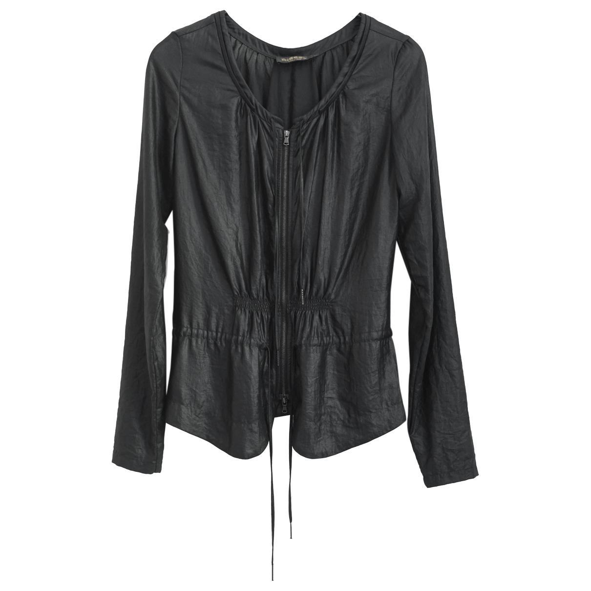 Diesel Black Gold \N Black jacket for Women XS International