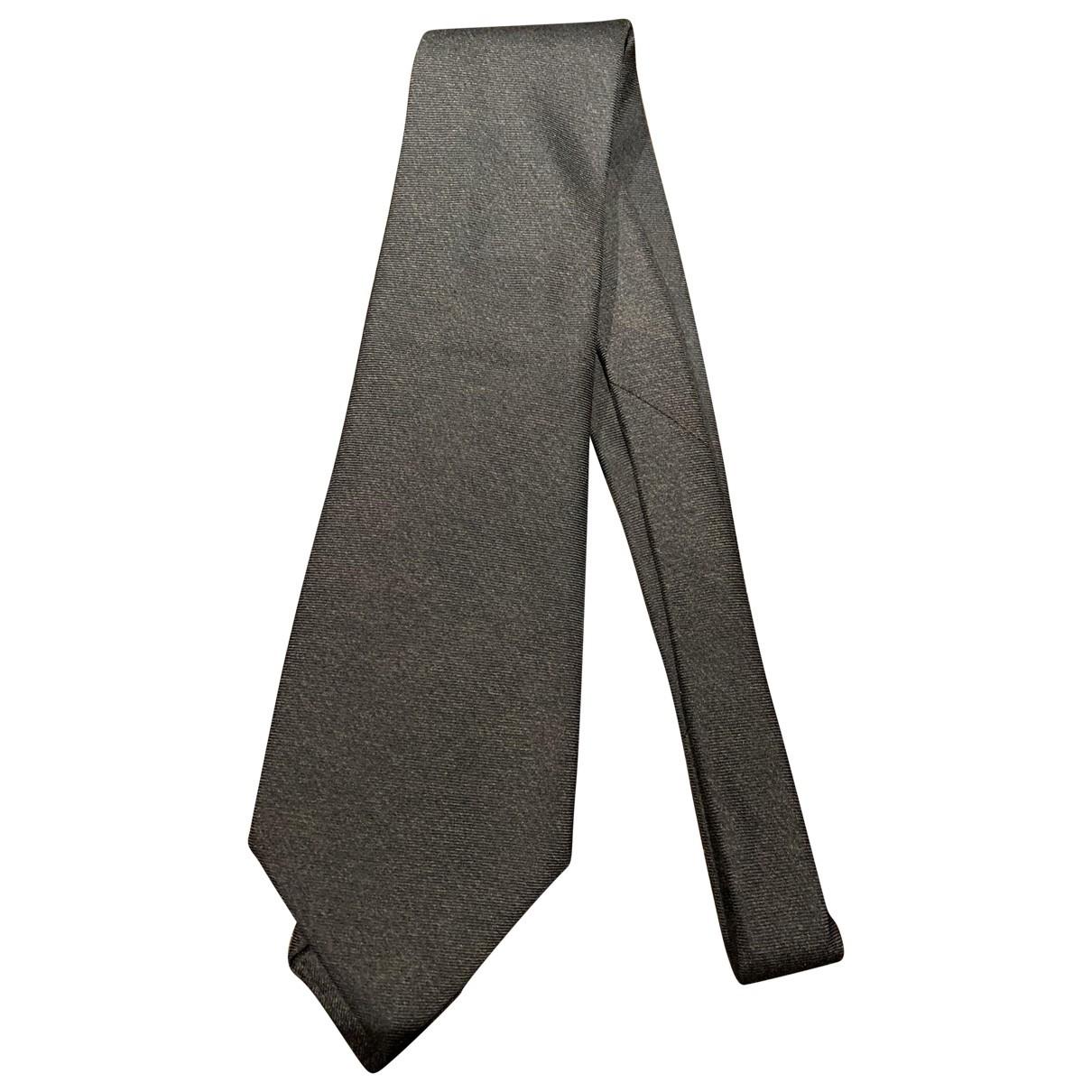 Bvlgari - Cravates   pour homme en cachemire - marron