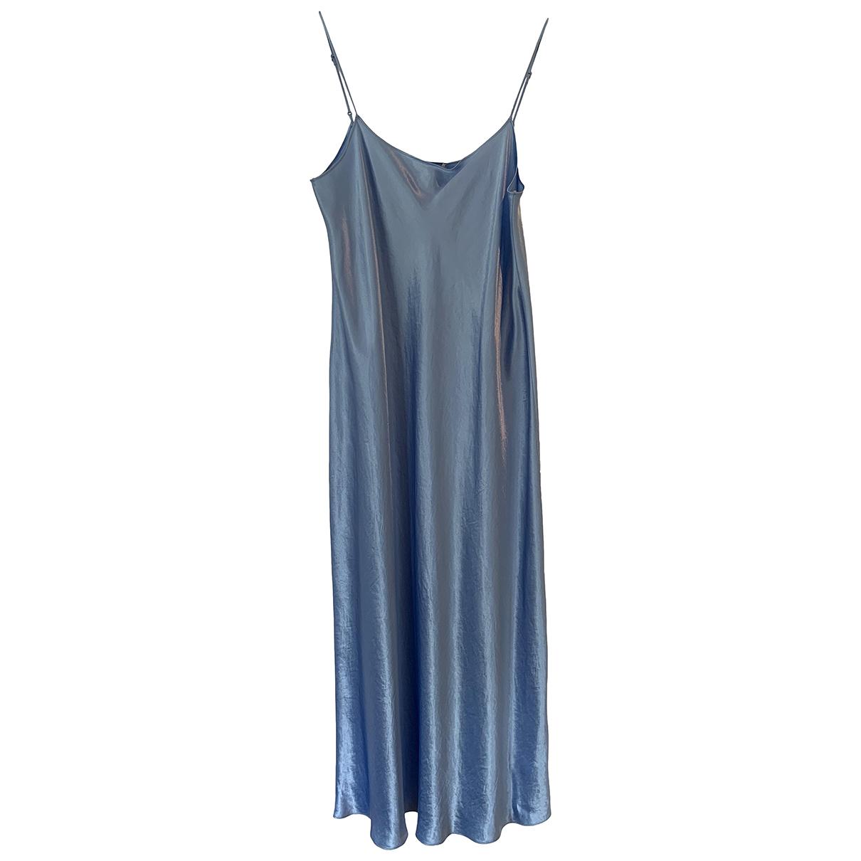 Vince - Robe   pour femme - bleu