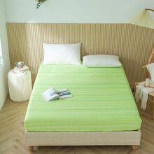 Bettdecke mit Streifen Muster