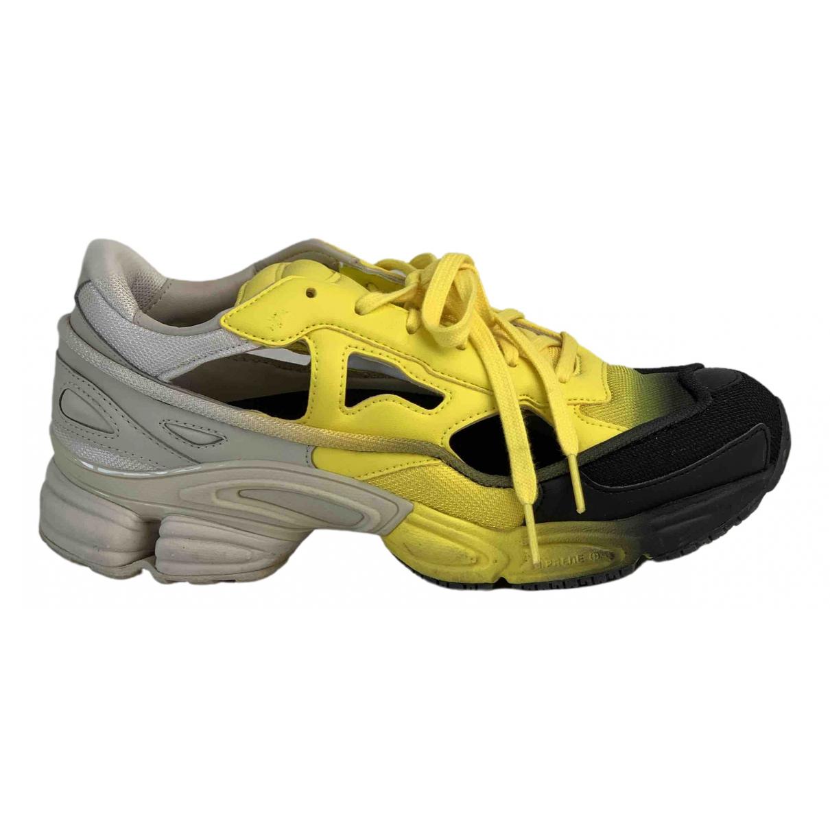 Adidas X Raf Simons Replicant Owzeego Sneakers in  Gelb Polyester