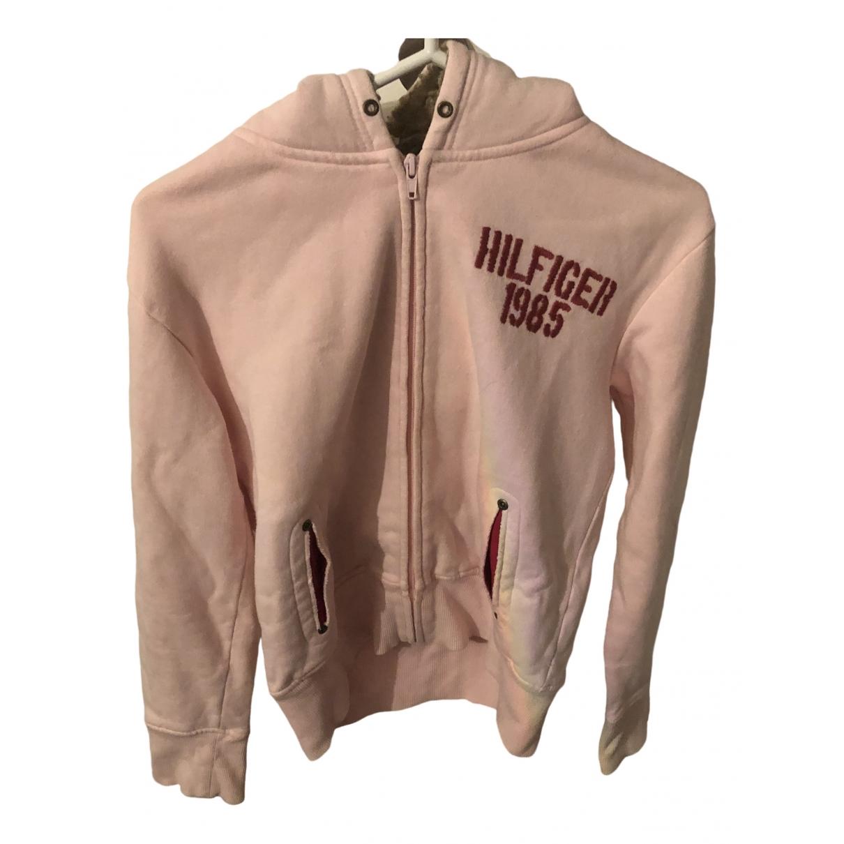 Tommy Hilfiger \N Pink Cotton Knitwear for Women 36 FR