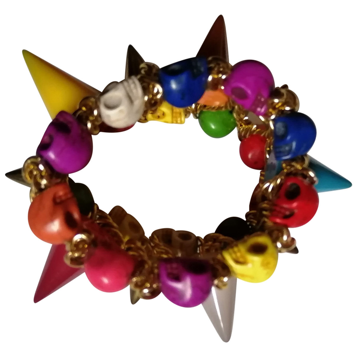 Non Signé / Unsigned \N Multicolour Metal bracelet for Women \N