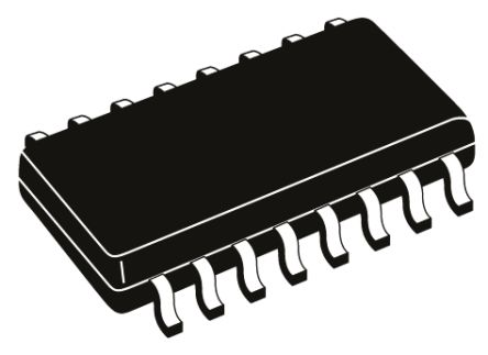 Nexperia 74LV595D,112 8-stage Shift Register, Serial to Serial/Parallel, , Uni-Directional, 16-Pin SOIC (10)