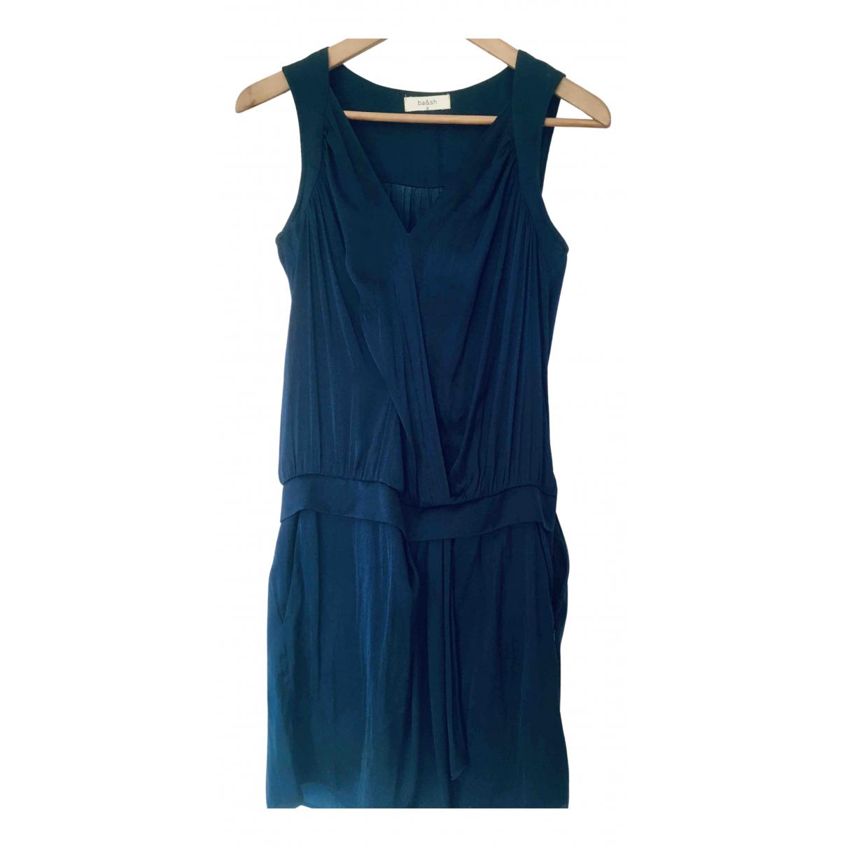 Ba&sh Spring Summer 2019 Kleid in  Blau Polyester