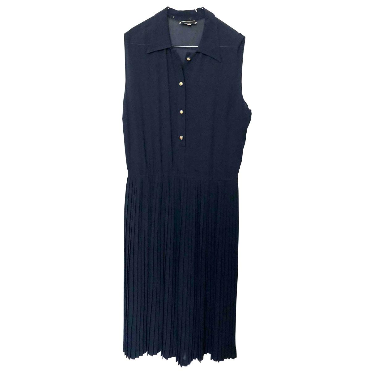 Chanel \N Blue Silk dress for Women 8 US