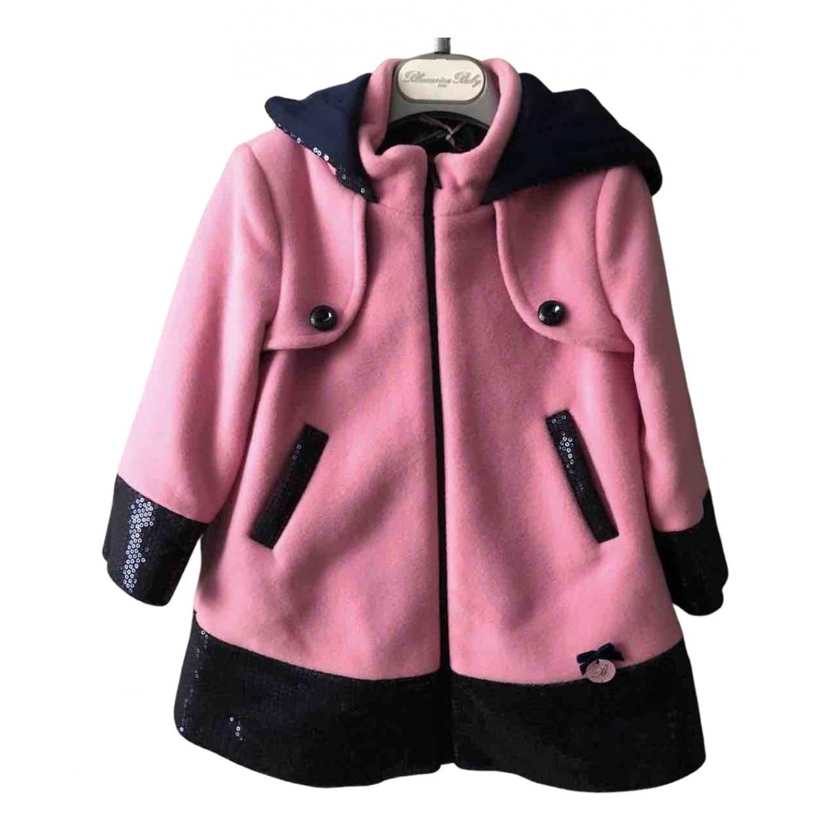Blumarine N Pink Wool jacket & coat for Kids 18 months - up to 81cm FR