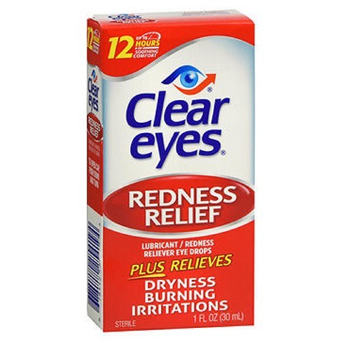 Clear Eyes Redness Relief Drops 1 oz by Clear Eyes