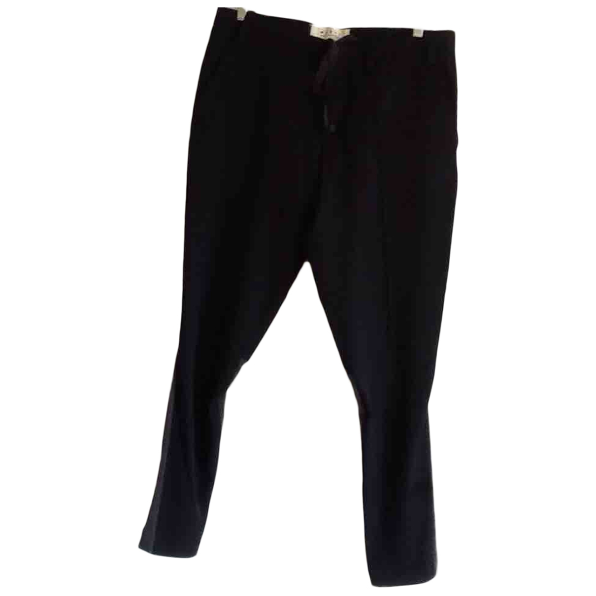 Marni \N Blue Wool Trousers for Women 46 IT
