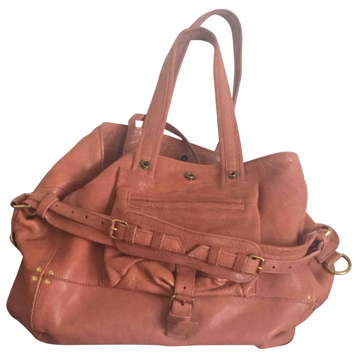 Jerome Dreyfuss Billy Handtasche in  Rosa Leder