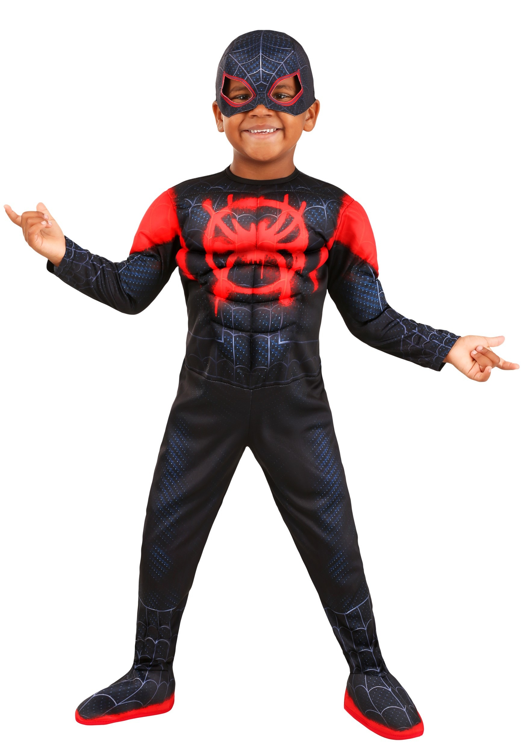 Deluxe Toddler Spiderman Miles Morales Costume