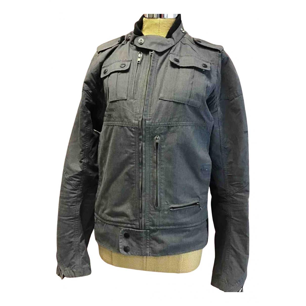 Diesel N Grey Cotton jacket  for Men L International