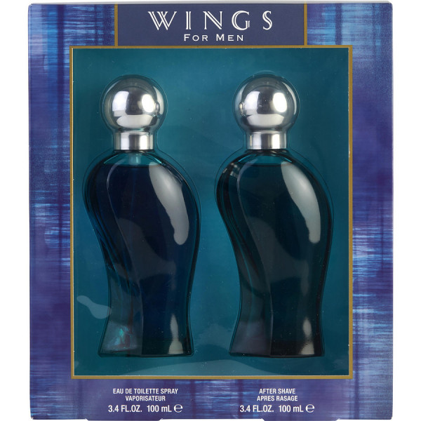 Wings Pour Homme - Giorgio Beverly Hills Estuche regalo 100 ML