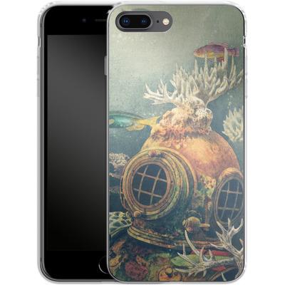 Apple iPhone 8 Plus Silikon Handyhuelle - Sea Change von Terry Fan