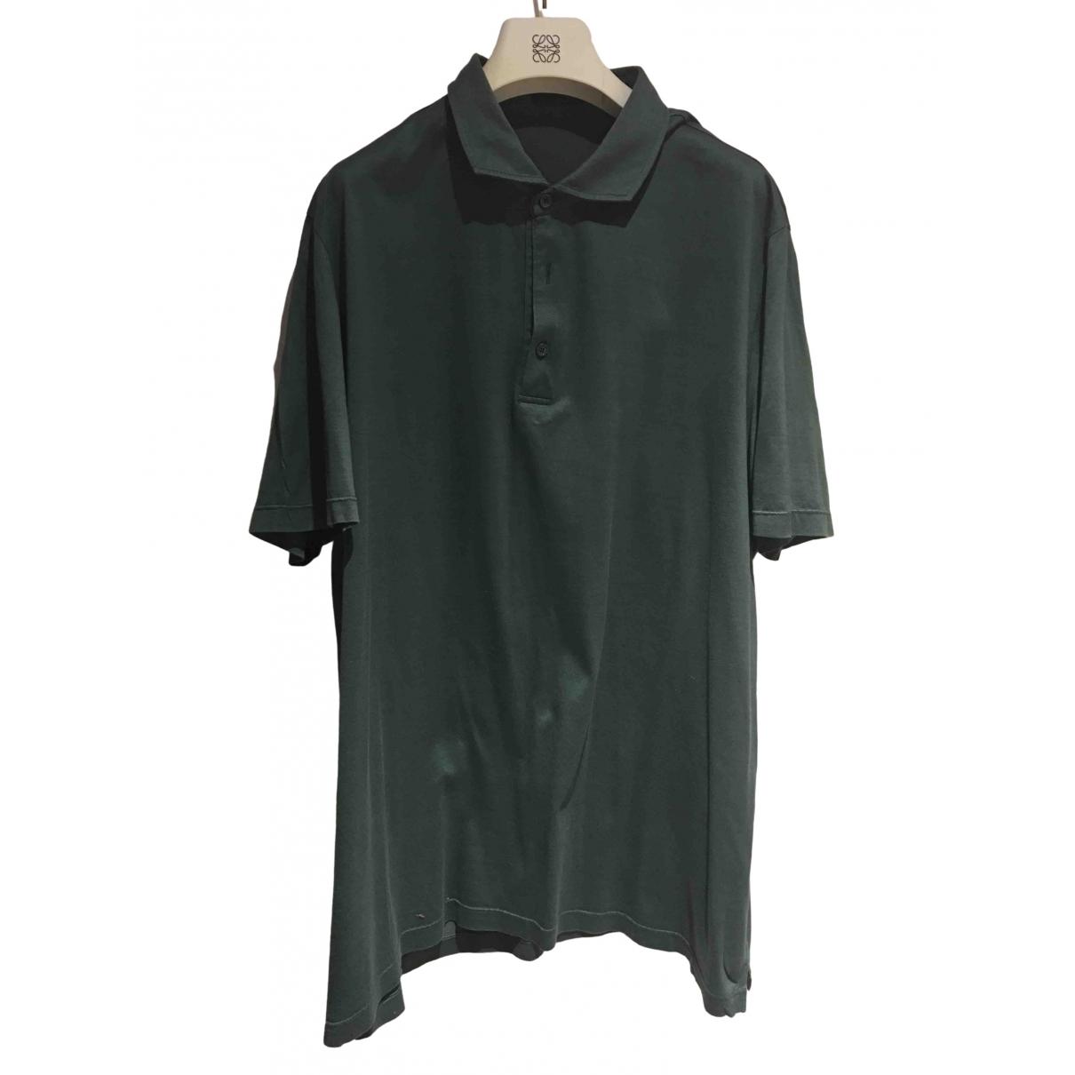 Pal Zileri - Polos   pour homme en coton - vert