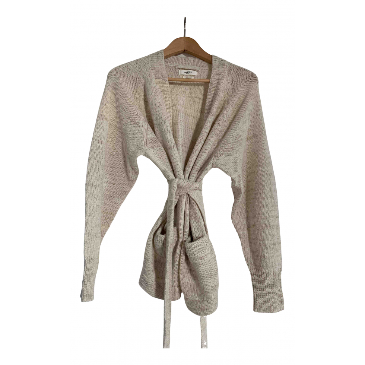 Isabel Marant Etoile \N Pullover in  Beige Wolle