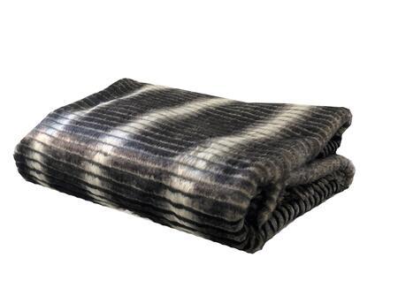 Gray & Taupe Collection PBEZ1664-4860-TC 48W x 60L Faux Fur Luxury