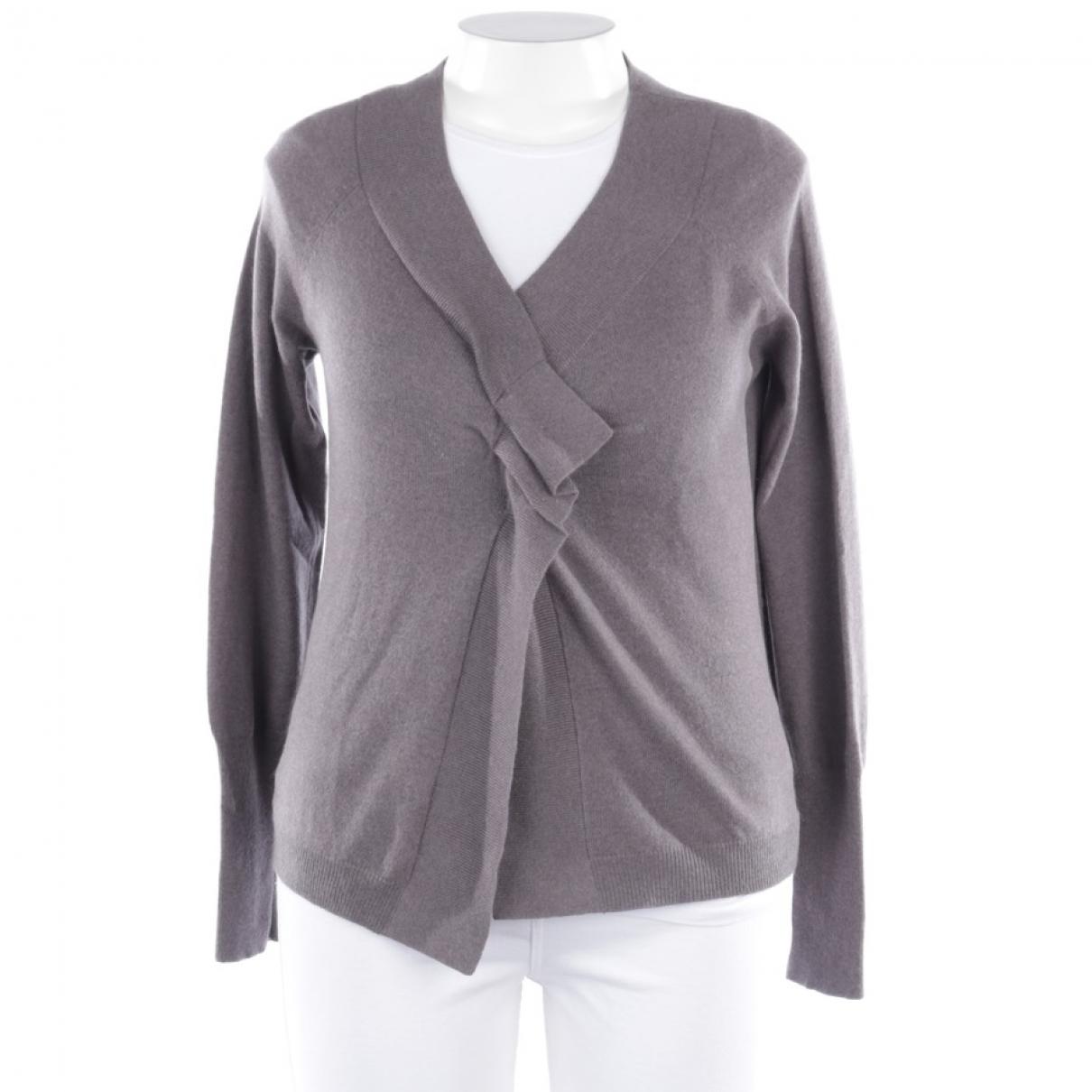 Brunello Cucinelli \N Grey Cashmere Knitwear for Women 42 FR