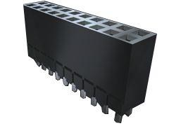 Samtec , ESW 2.54mm Pitch 20 Way 2 Row Vertical PCB Socket, Through Hole, Solder Termination (22)