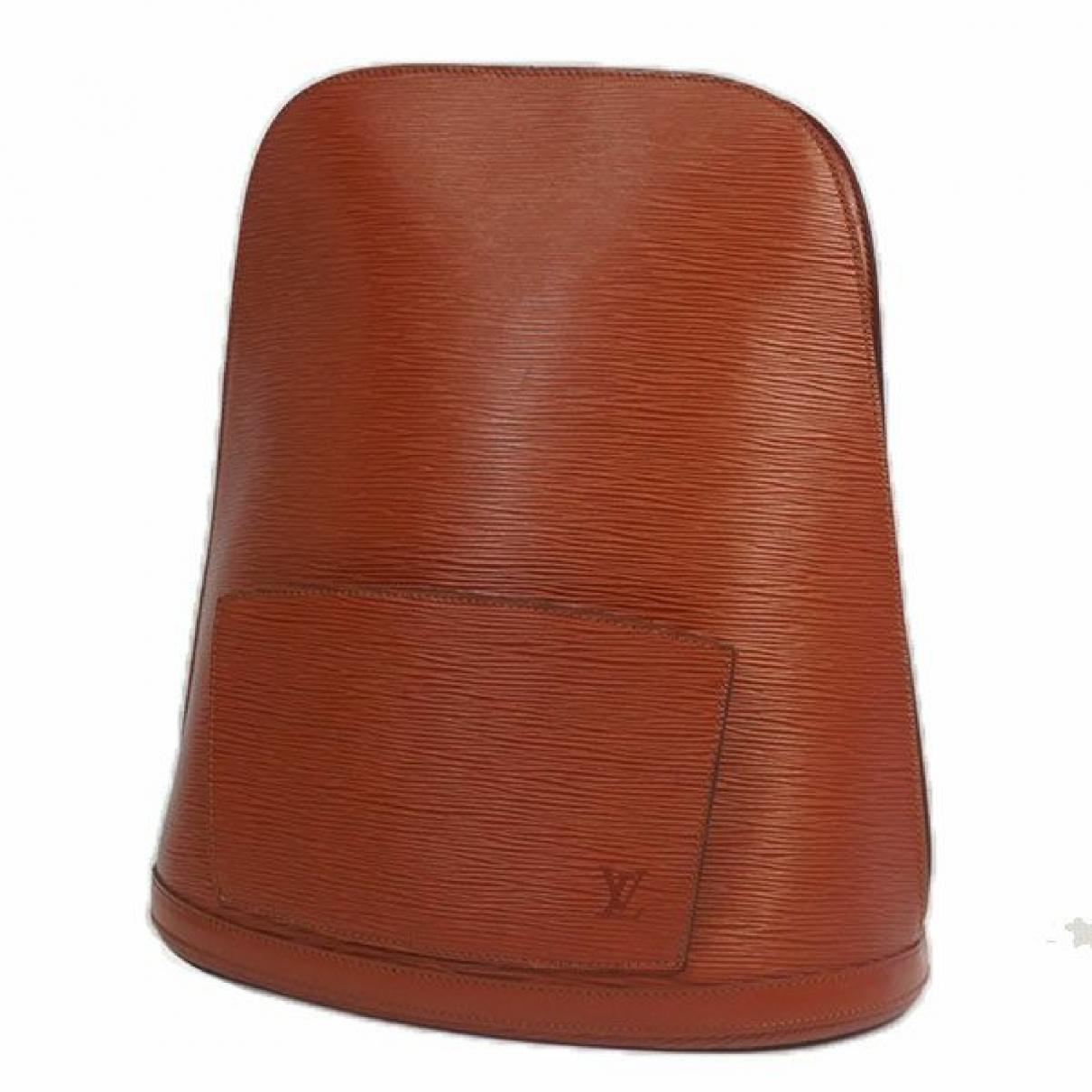 Louis Vuitton \N Rucksaecke in  Braun Leder