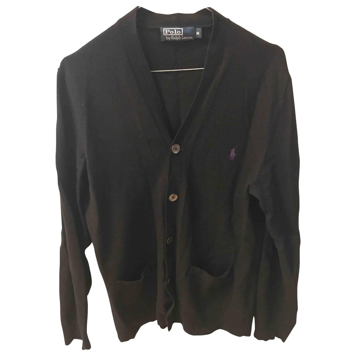 Polo Ralph Lauren \N Black Wool Knitwear & Sweatshirts for Men M