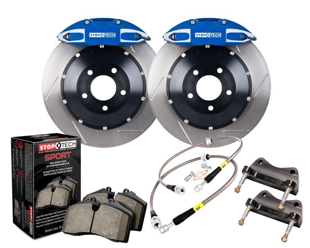 StopTech 83.429.005G.21 Big Brake Kit 2 Piece Rotor; Rear Honda S2000 Rear 2000-2005