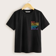 Boys Letter Graphic Tee