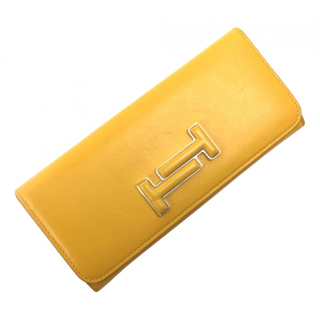 Tods N Yellow Leather wallet for Women N