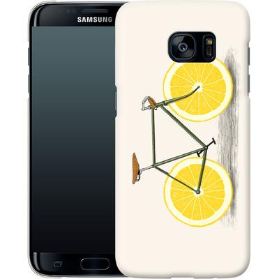 Samsung Galaxy S7 Edge Smartphone Huelle - Zest von Florent Bodart