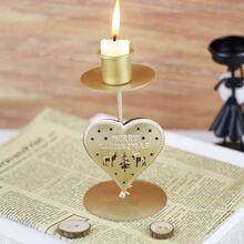 1 pieza soporte de vela de navidad