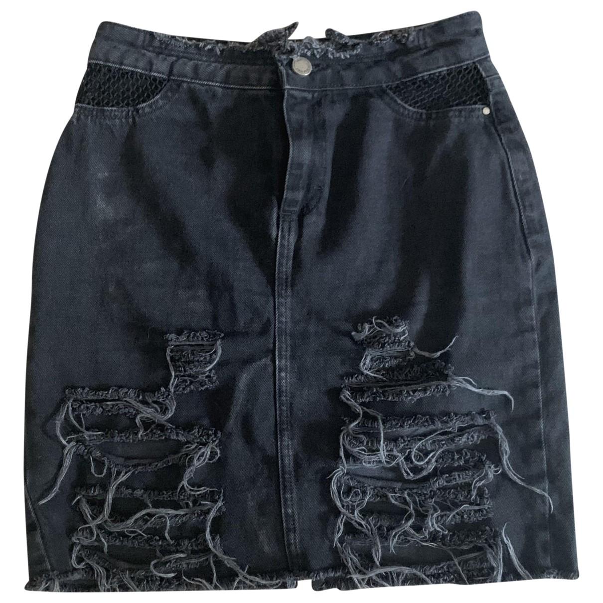 Zara N Black Denim - Jeans skirt for Women XS International