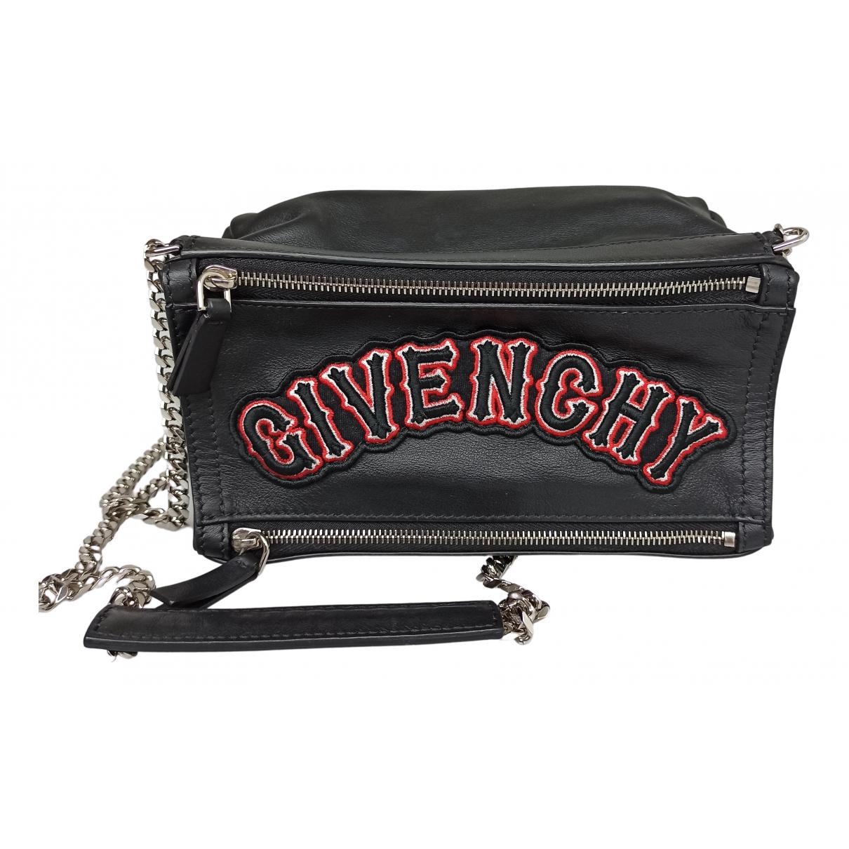 Givenchy Pandora Black Leather handbag for Women N