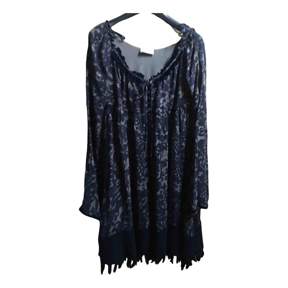 Pinko \N Kleid in  Blau Polyester