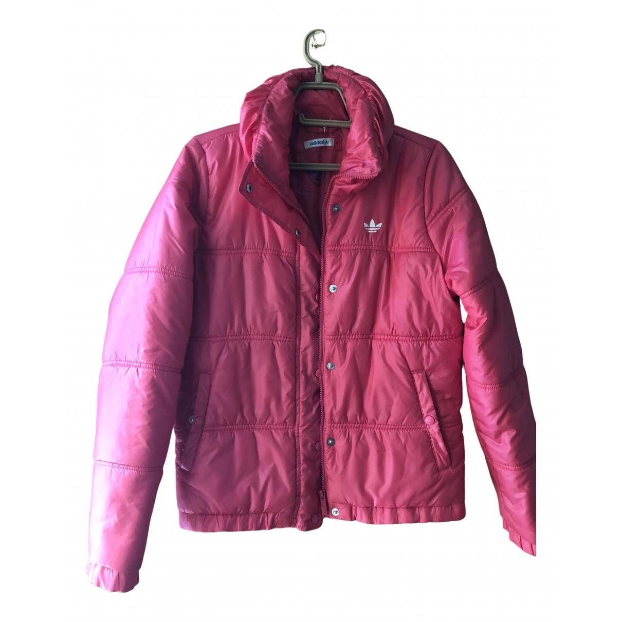 Adidas - Manteau   pour femme - rose