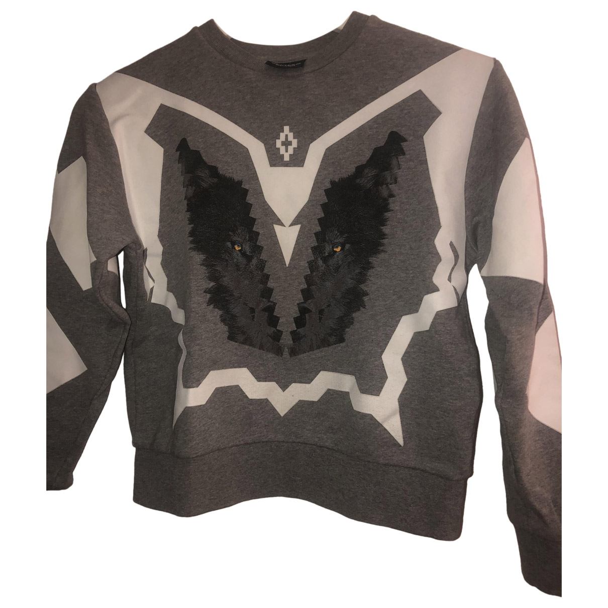 Marcelo Burlon \N Grey Cotton Knitwear for Kids 8 years - until 50 inches UK