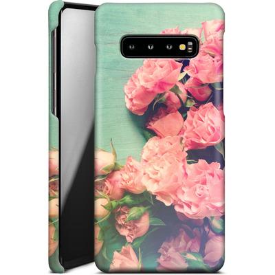 Samsung Galaxy S10 Plus Smartphone Huelle - Garden Party von Joy StClaire