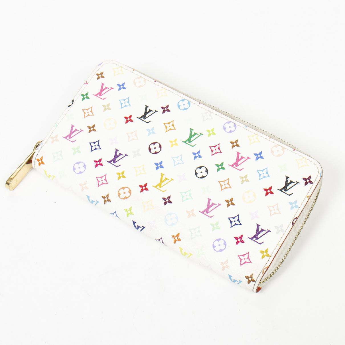 Louis Vuitton - Portefeuille Zippy pour femme en autre - blanc