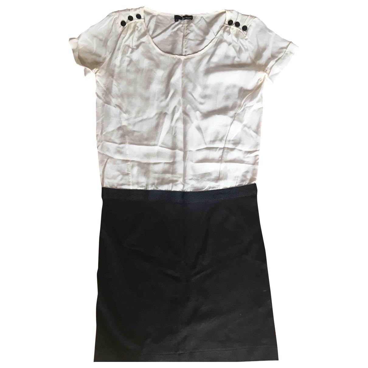 The Kooples \N Kleid in  Schwarz Seide