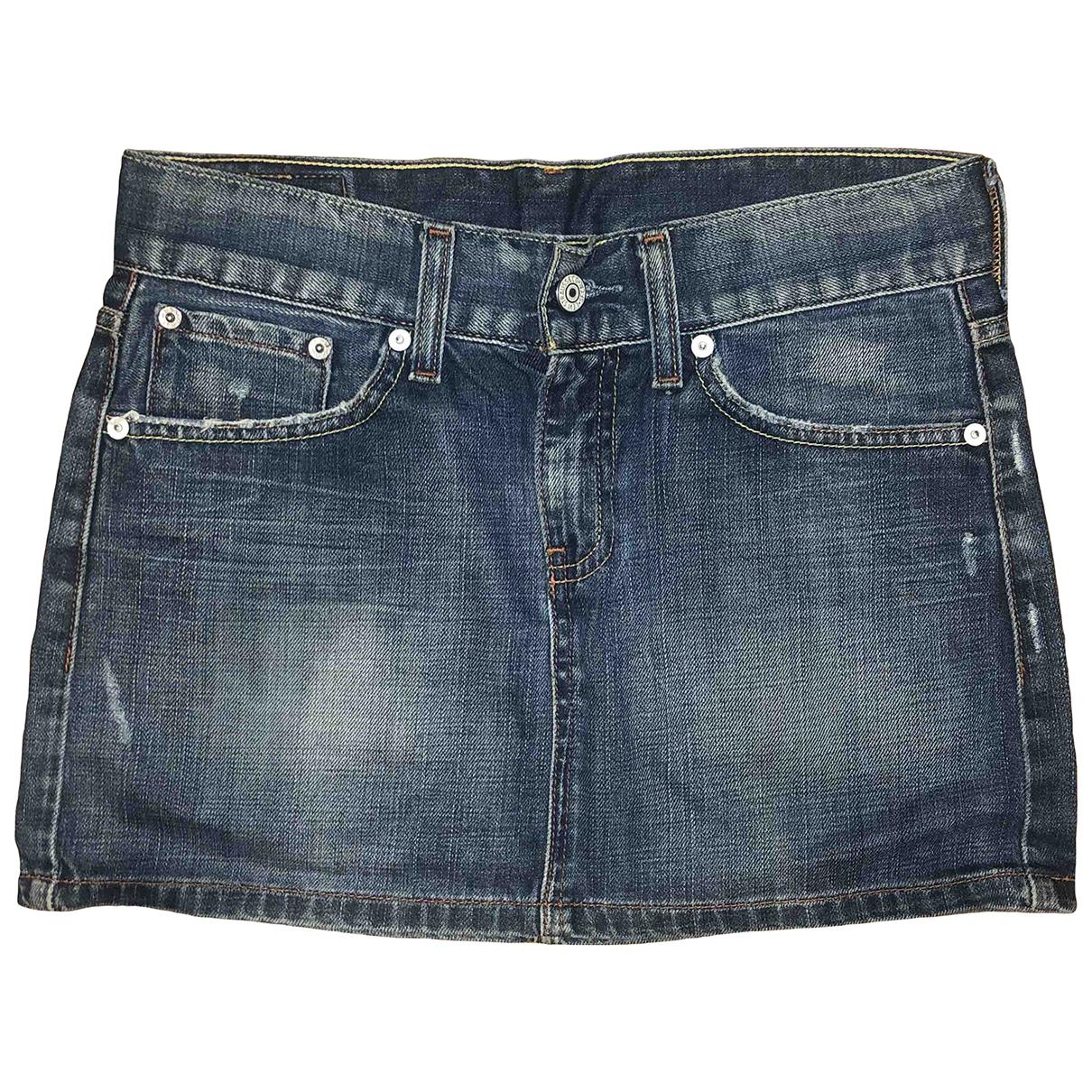 Levis Vintage Clothing \N Rocke in  Blau Denim - Jeans