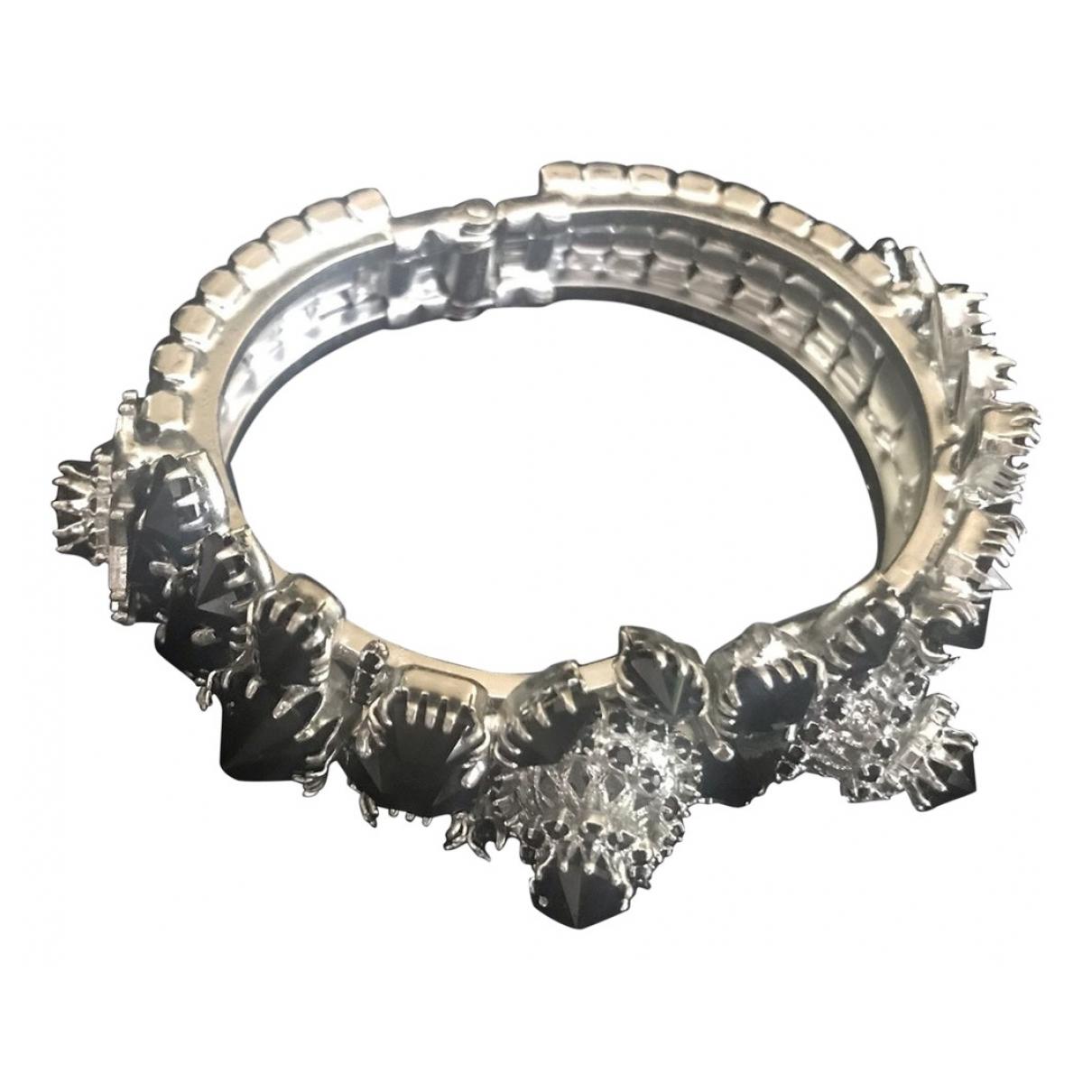Rodrigo Otazu \N Armband in  Schwarz Metall