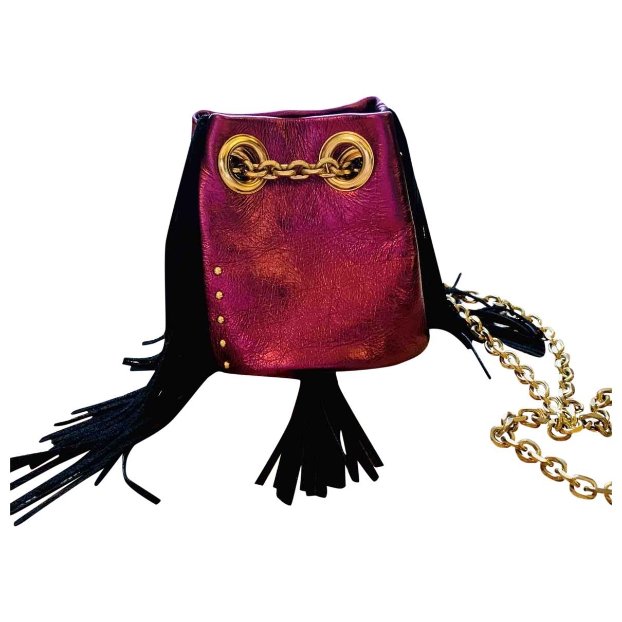 Delphine Delafon \N Handtasche in  Rosa Leder