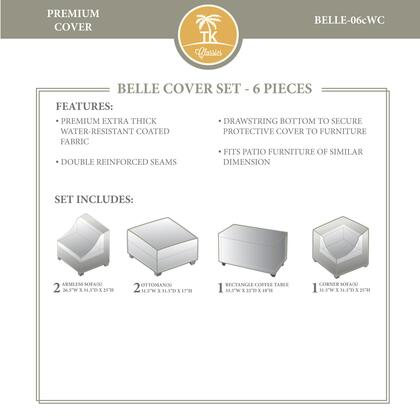 BELLE-06cWC Protective Cover