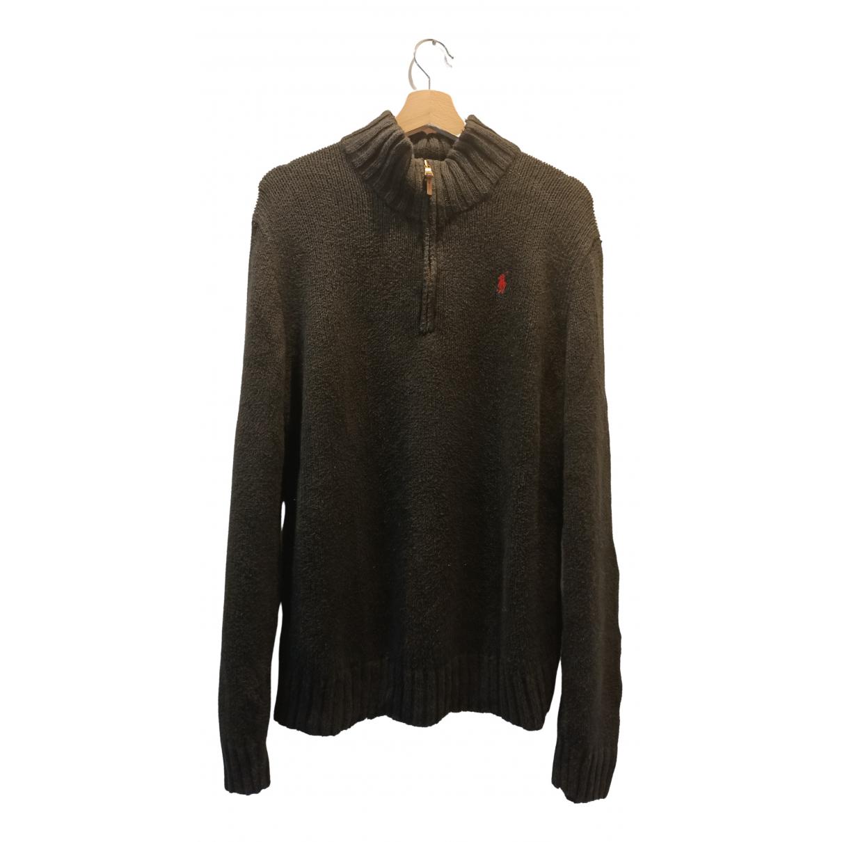 Polo Ralph Lauren N Black Cotton Knitwear & Sweatshirts for Men M International