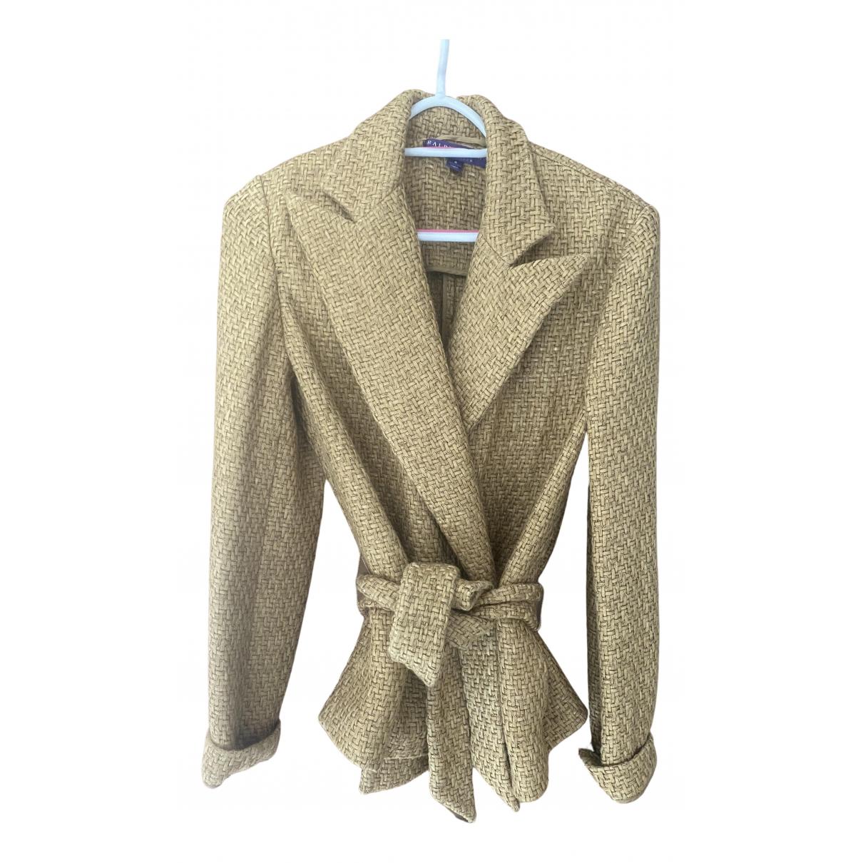 Ralph Lauren \N Jacke in  Gold Baumwolle