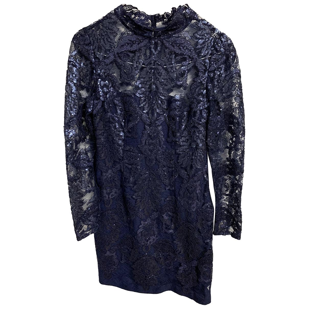 Reiss \N Navy Lace dress for Women 10 UK