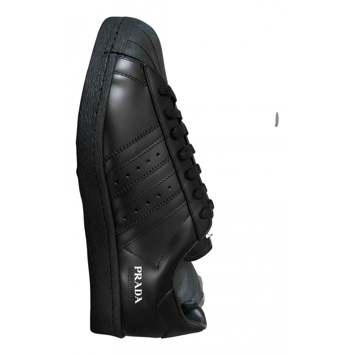 Prada X Adidas \N Sneakers in  Weiss Leder
