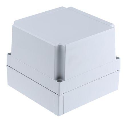 Fibox Grey ABS Enclosure, IP66, IP67, 180 x 180 x 150mm