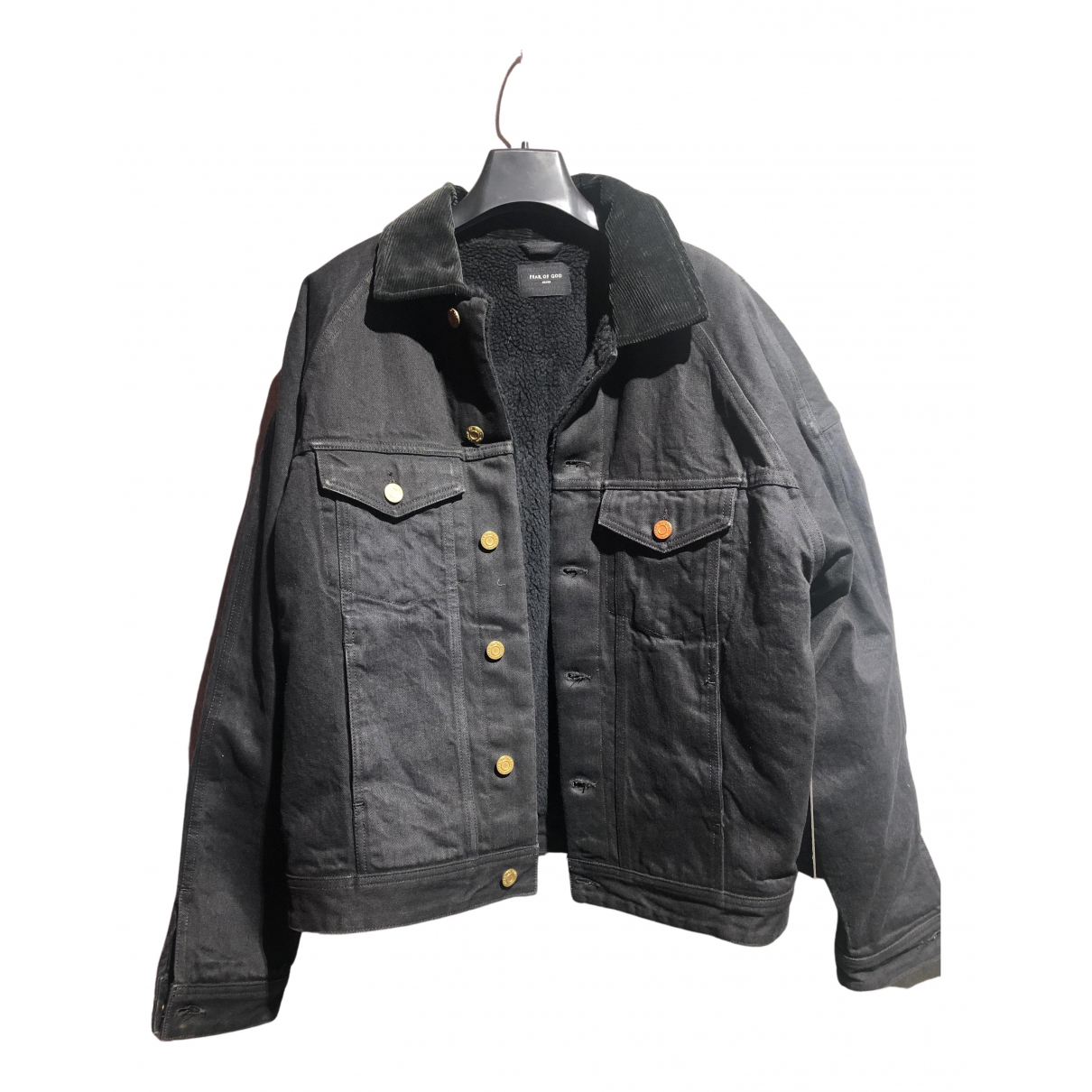 Fear Of God N Black Denim - Jeans jacket  for Men M International