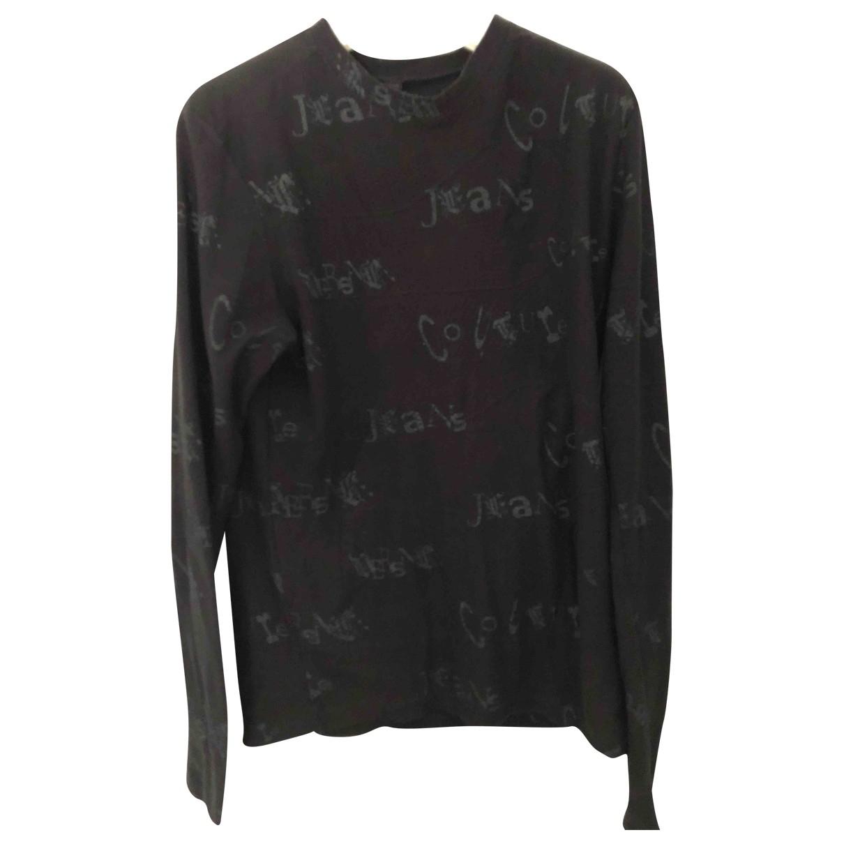 Versace Jeans \N Black Cotton Knitwear & Sweatshirts for Men M International